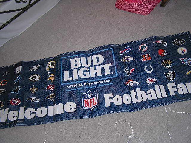 Nfl Bud Light Collection On Ebay