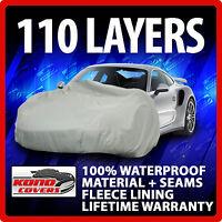 Cadillac Sedan Deville 1985-1988 Car Cover - 100% Waterproof 100% Breathable