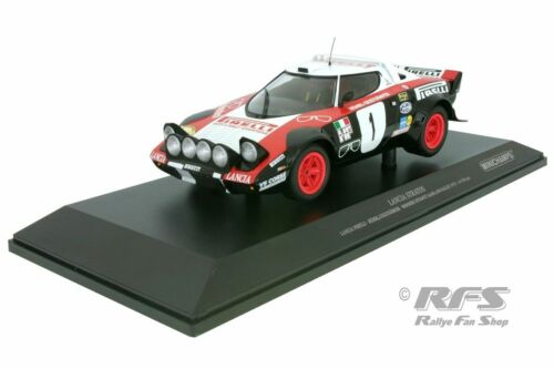 Lancia Stratos HF Walter Röhrl Saarland Rallye 1978 Rodenstock 1:18 Minichamps
