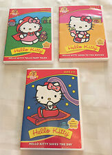 Hello Kitty 3 DVD Lot: Goes to the Movies, Tells Fairy Tales & Saves the Day