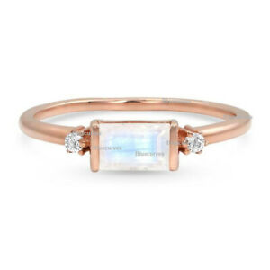 0-50-Ct-Moonstone-Gemstone-Wedding-Ring-Diamond-Solid-14k-Yellow-Gold-Jewelry