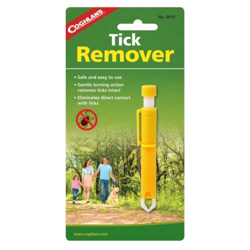 Coghlan/'s Tick Remover Kit Premiers Soins Twister Tweezer pour les personnes et les animaux domestiques 4-Pack