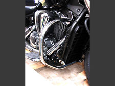 S) Yamaha Midnight Star Vstar XVS 1300 Stainless Highway Crash Bar Engine Guard