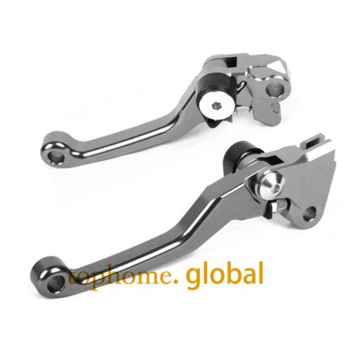 For KTM 350 SX-F// XC-F// EXC-F 2014-2017 Pivot Clutch Brake Levers CNC SIX DAYS