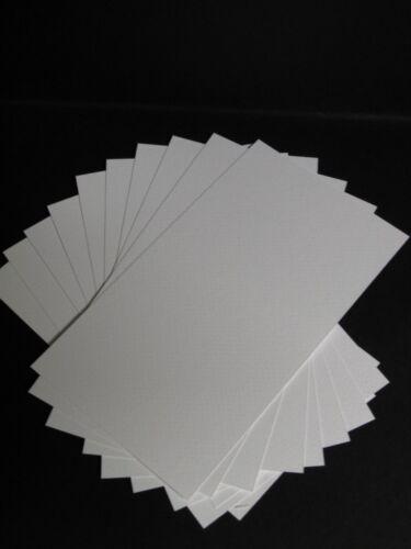 texturé 300gsm 120 x 210 mm AM532 40 x aquarelle papier//Carte Lisse