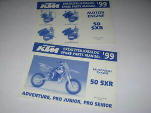 2 Parts List Catalogue Revue Technique Ktm 50 Sxr 1999 Hlvrpck6-08005446-125821275