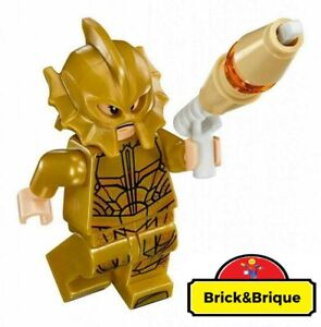 LEGO-Atlantean-Guard-Angry-Expression-Blaster-sh430-Neuf-New