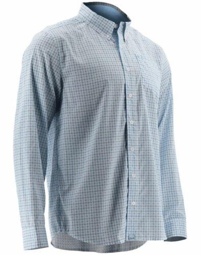 60/% Off HUK Santiago Long Sleeve Fishing Shirt--Pick Color//Size-Free Shipping