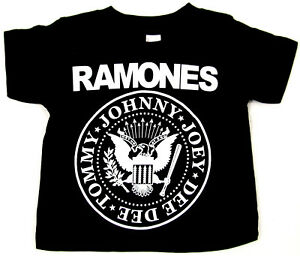 RAMONES-Baby-Infant-T-shirt-Punk-Rock-Star-Tee-6M-12M-18M-24M-Blitzkrieg-Bop-New