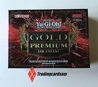 ♦yu-gi-oh♦ Pack De 10 Cartes (2 Boosters) Gold Premium : Or Infini (infinite)