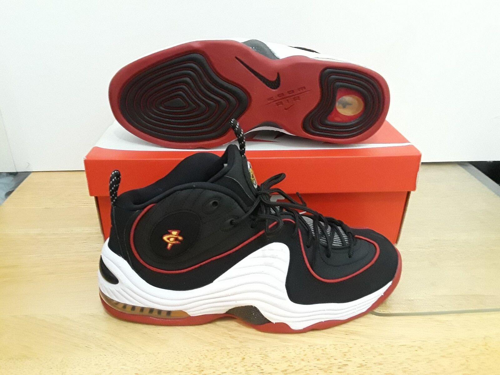 Air Ii Hardaway Nike Penny Basketball Miami 2 Heat Black Shoes Mens Fw7paqgp