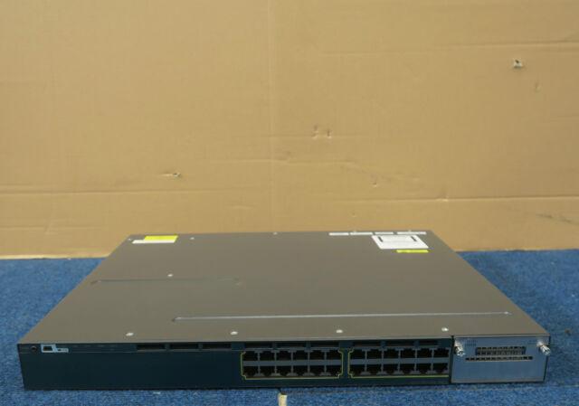 Cisco WS-C3560X-24P-L Catalyst 24 Port Managed PoE Gigabit Ethernet Switch