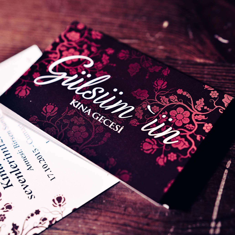Einladungskarten für Hennaabend Mini - Kina kartlari davetiyeleri  020