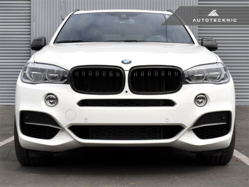 AutoTecknic ATK-F15.MGT M50D Style Lower Front Grille Trim Fits 14 BMW X5