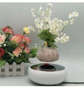 Magnetic Levitating Plant Pot Bonsai Air Suspension Floating Flower ChrismasGift