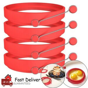 4-Pack-Silicone-Egg-Fried-Ring-Round-Mold-Pancake-Breakfast-Cooking-Tool-Kitchen