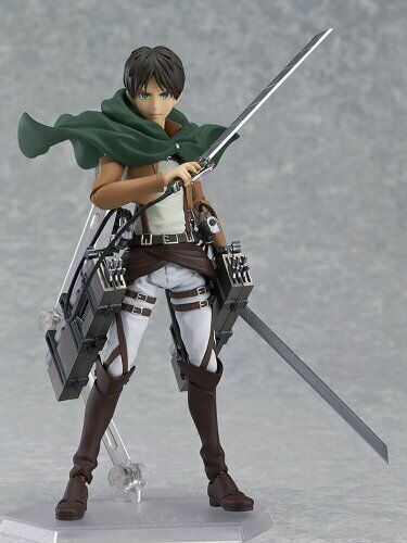 Figma Attack on Titan Ellen Jaeger Nonscale ABS & PVC Painted Movable cifra
