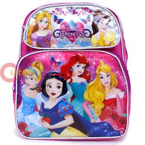 82f9fb58361 Image is loading Disney-Princess-School-Backpack-Floral-12-034-Medium-