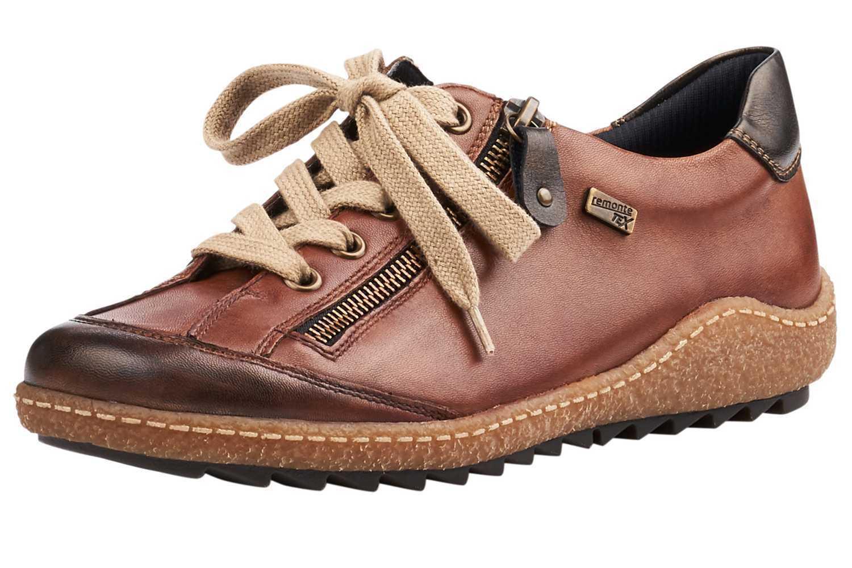 Remonte Scarpe Basse in taglie forti grandi scarpe da donna Marronee XXL | Aspetto Attraente  | Maschio/Ragazze Scarpa
