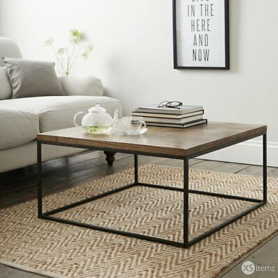 The White Company Malham Coffee Table Smoked Ash Wood Home Lounge RRP £275 Part 38
