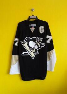 PITTSBURGH PENGUINS #87 SIDNEY CROSBY VTG REEBOK CCM NHL JERSEY MENS - 52