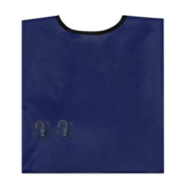 Facial Hair Beard Gather Trimming Catcher Cape Apron Whisker Cloth Bib Blue