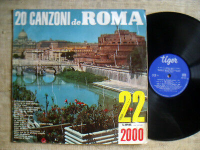 20 canzoni de Roma serie niagara n°22   LP33