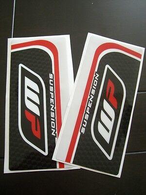 SMX motocross fork stickers decals for WP suspension forks KTM motorcycles upper
