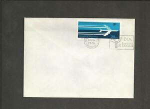 ARGENTINA-1976-The-25th-Anniversary-of-the-034-Aerolineas-Argentinas-034-FDC