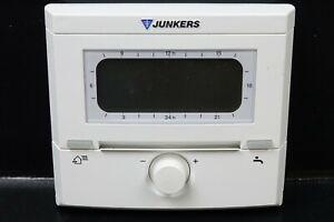 Junkers-FW-200-witterungsgefuehrter-Regler-mit-Solarregelung-7719002923-Steuerung