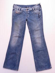 4356582b Diesel Ryoth Boot Cut Women's DENIM BUTTON FLY Jeans Size W30 WASH ...