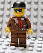 LEGO Alaska Bush Pilot MInfig Hunter Fisherman Outdoorsman Camper