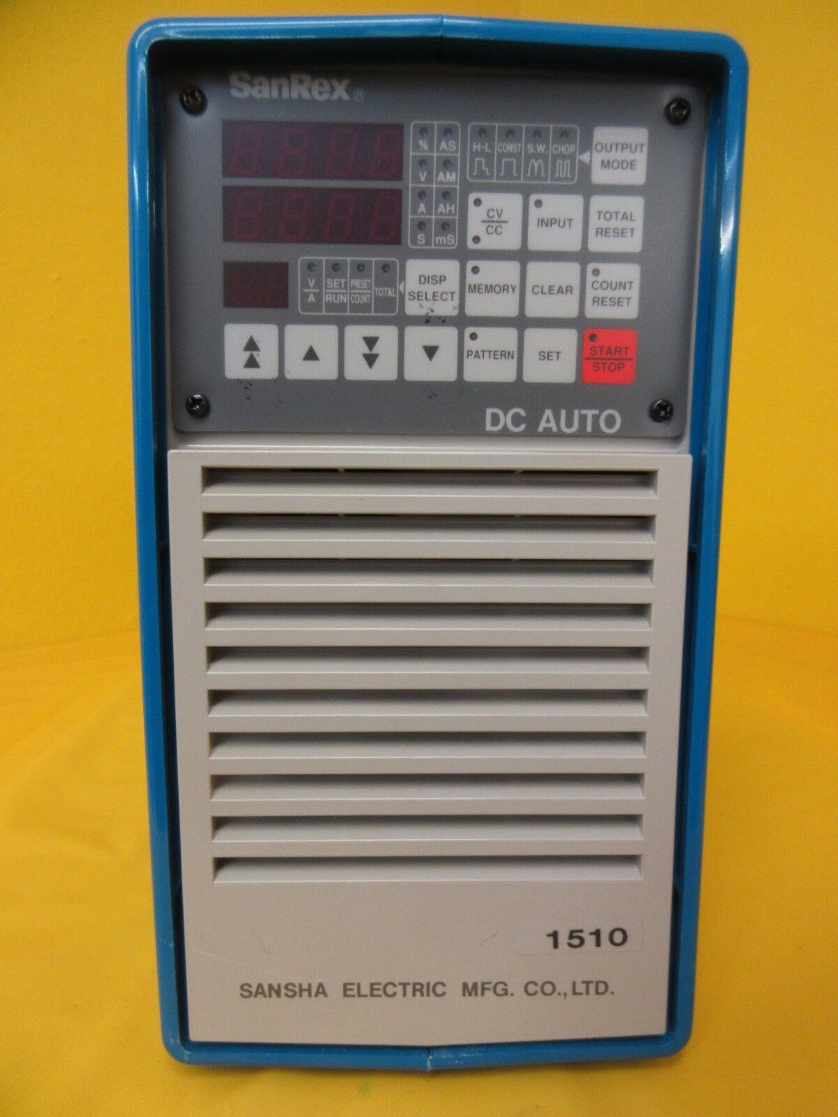 Sansha Electric Hkd-1510bt Metal Surface Treatment Power Supply SANREX