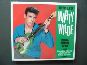 Marty-Wilde-The-Very-Best-Of-40-Original-Recordings-On-2-CD-Neu-OVP-2015