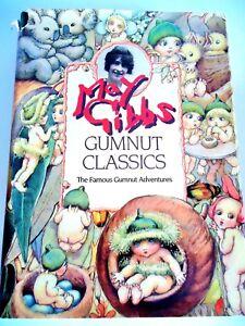 MAY-GIBBS-GUMNUT-CLASSICS-THE-FAMOUS-GUMNUT-ADVENTURES-COMPLETE-1996-CORNSTALK