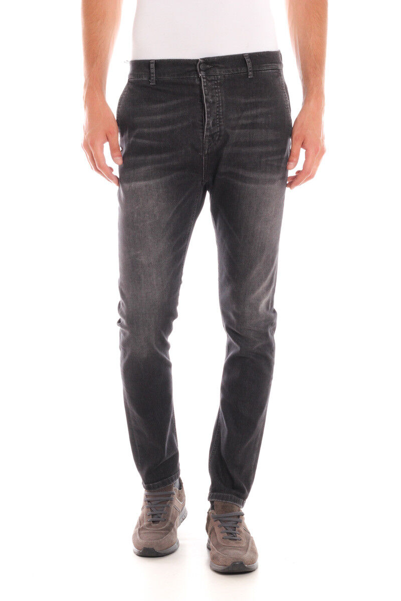 Jeans Daniele Alessandrini Jeans Cotone Uomo Nero PJ5409L152 1111