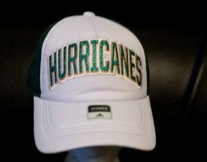 ADIDAS-Miami-Hurricanes-Women-039-s-Trucker-Hat-NCAA-STYLE-VS88W-FREE-SHIPPING