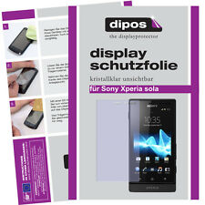 1x Sony Xperia sola screen protector protection guard crystal clear