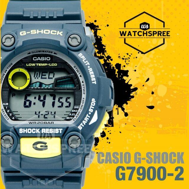 Casio Digital Sport Mens G Shock Blue Watch G-7900-2d  4352abe758f49