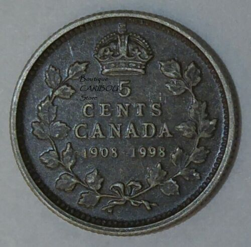 1998 Canada Silver Proof /'/'Antique Finish/'/' 5 Cents