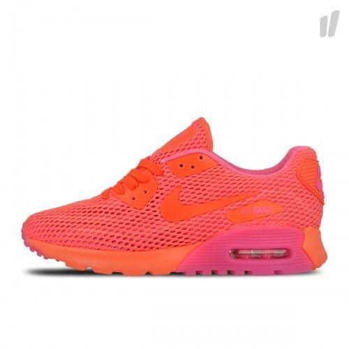 Femme nike air max 90 ultra br breathe  pourpre/rose - 725061-800 -  breathe Chaussures de sport pour hommes et femmes 041b93