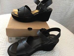 c1c74259eae NIB Women s Kork Ease Platform Wedge Sandal Ava 2.0 Black K37303 ...
