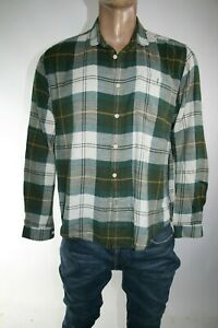 BARBOUR-BEACON-BRAND-CAMICIA-UOMO-TG-L-MAN-CASUAL-VINTAGE-SHIRT-L140