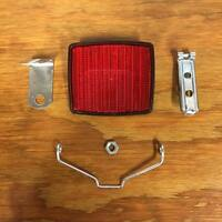Bicycle Reflector With Hanger Fit Banana Seat Bike