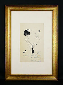 Coleman-Hawkins-Jan-MARA-1912-1992-Original-caricature-Jazz-Louis-Armstrong