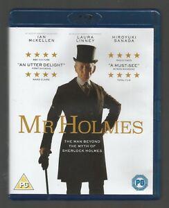 MR-HOLMES-Ian-McKellen-UK-BLU-RAY-vgc