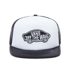 Vans-Baseball-Cap-Classic-Patch-Trucker-White-Black