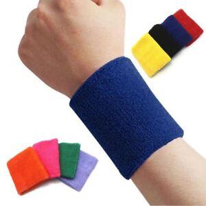 1-2pcs-Sports-Basketball-Unisex-Cotton-Sweat-Band-Sweatband-Wristband-Wrist-Band