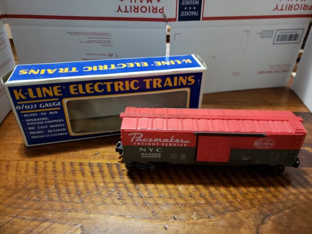 K LINE K-644602 NYC PACEMAKER BOX CAR USED IN BOX VERY SHARP