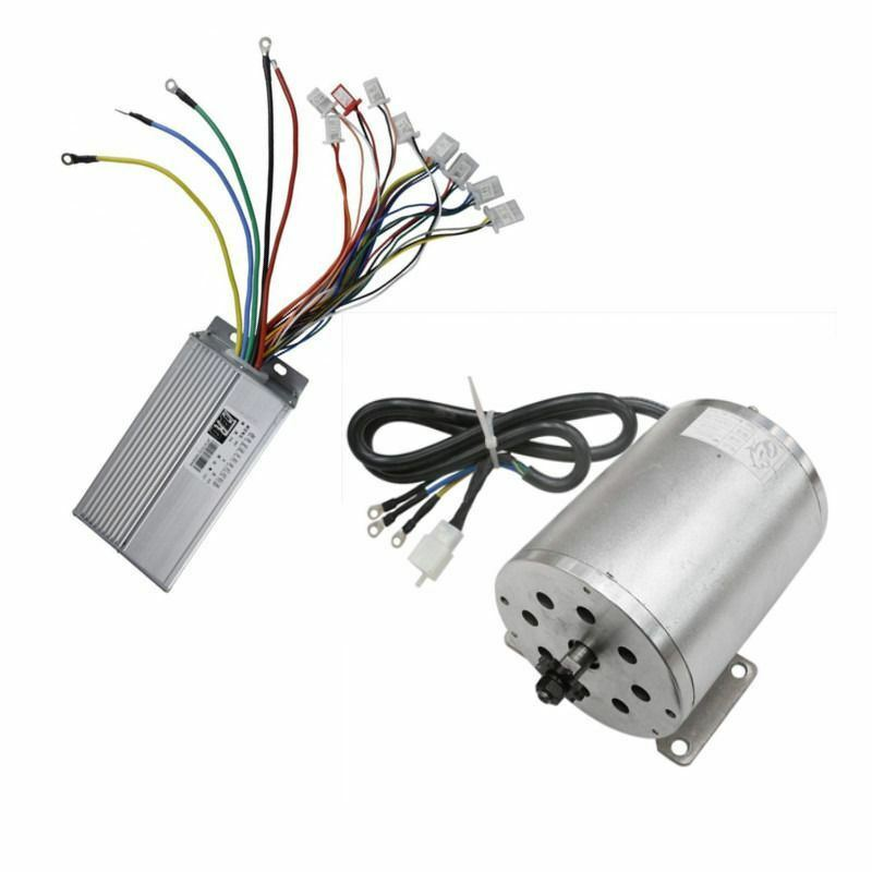 1800W 48V Brushless Electric Motor Speed control Controller Go Kart Scooter T8F